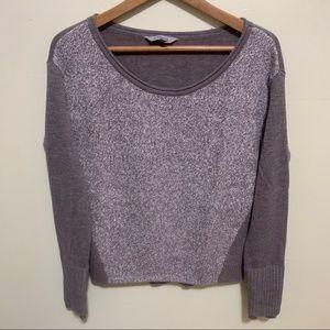Athleta Brown/Tan Knit Sweater